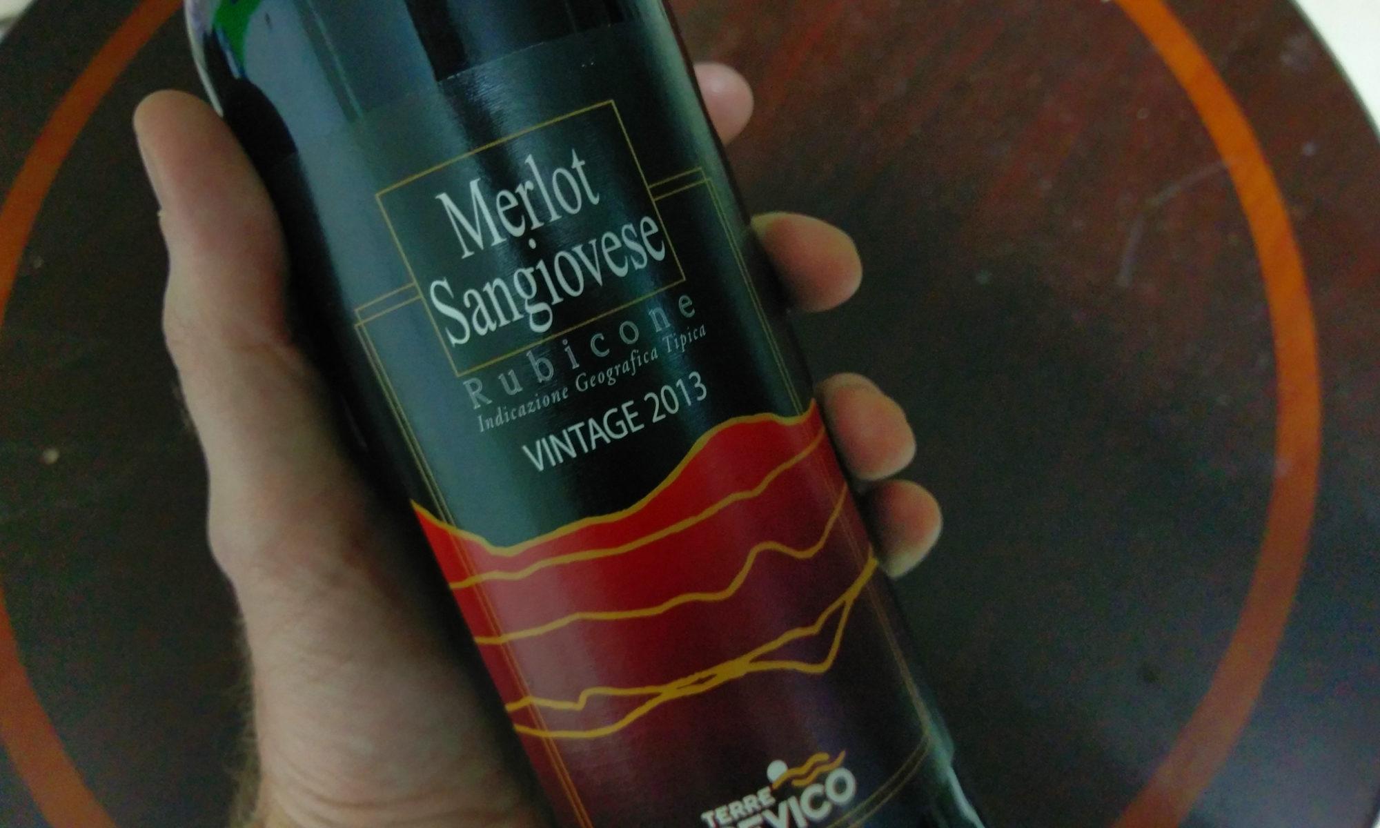 Rubicone Merlot Sangiovese 2013