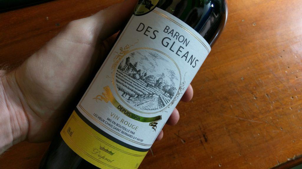 Baron Des Cleans Vin Rouge